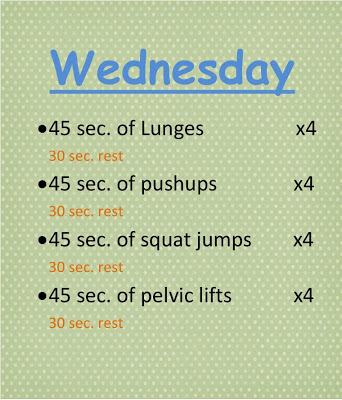 Todays Workout