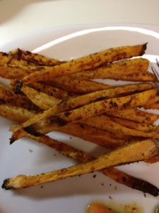 Baked Sweet Potato Fries! YUM