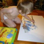 DIY painting with Nolan