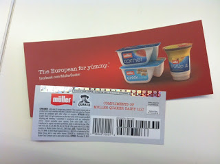 Müller – a new yogurt from Quaker – Hits San Antonio!
