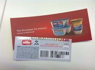 Müller – a new yogurt from Quaker – Hits San Antonio!