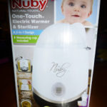 Nuby One-Touch Electric Warmer and Sterilizer Review and Giveaway