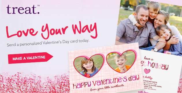 Enjoy 20% Off Valentine's Day Cards and Party Invitation ***Deal of the Day****
