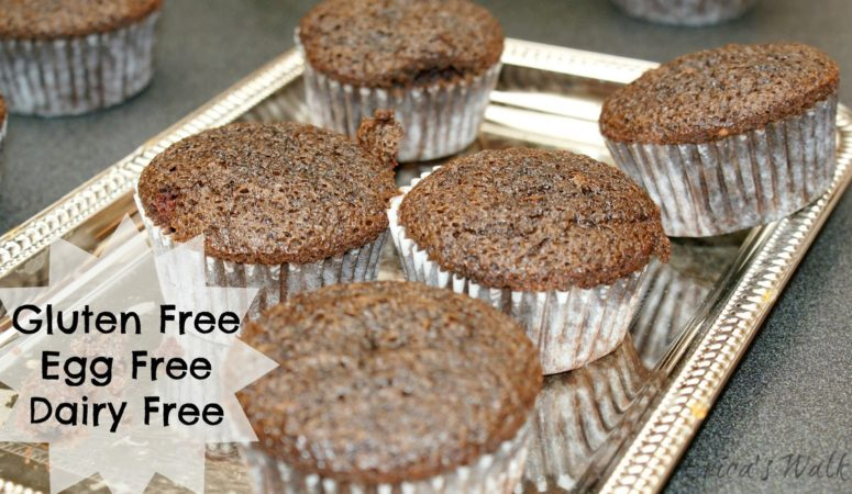 Gluten Free, Egg free, Dairy Free Cupcakes.