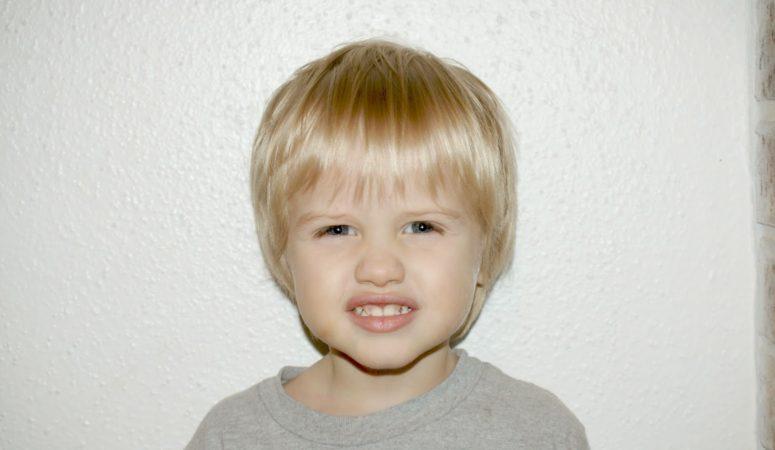 How I cut my son's hair