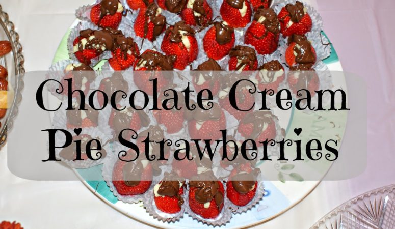 Chocolate Cream Pie Strawberries