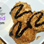 Maple and Brown Sugar Homemade Fried Ice Cream