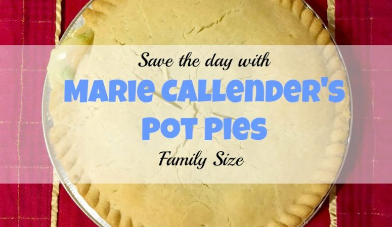 Saving the day with Marie Callender's Pot Pies.