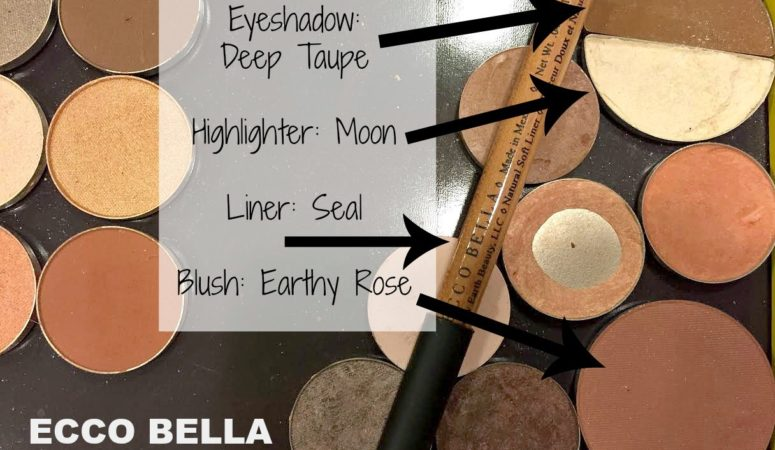 Nothing like a good all natural and organic makeup. Ecco Bella