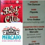 Erica's Walk was voted San Antonio Magazine Best of the City