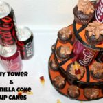 DIY Tower & Vanilla Coke Cup Cakes
