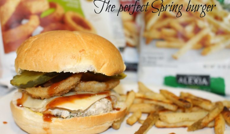 The Perfect Spring Burger