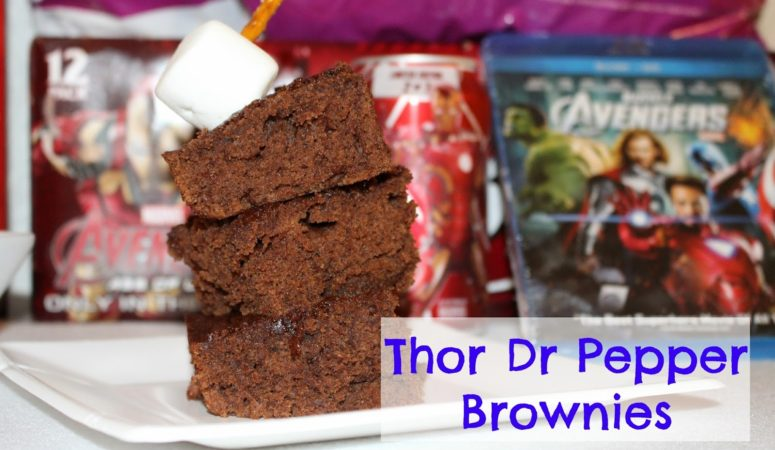 Thor Dr Pepper Brownies pre MARVEL's Avenger: Age of Ultron party