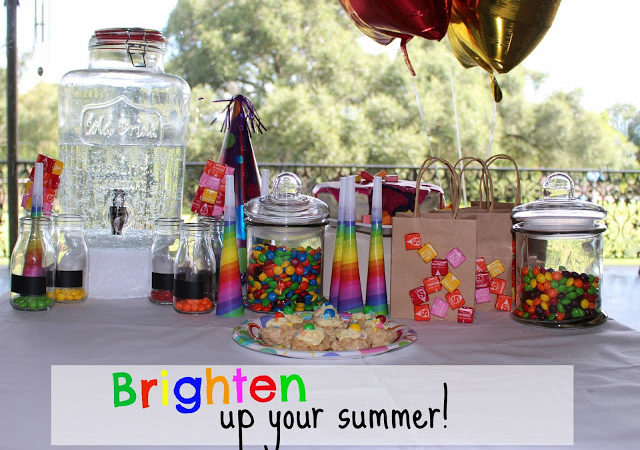 Brighten up your summer with a fun summer party.
