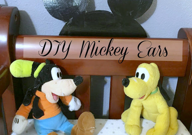 DIY Mickey Ears #MagicBabyMoments