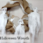 DIY Halloween Wreath.