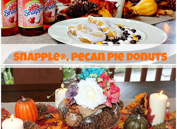 Snapple®, Pecan Pie Donuts and DIY Fall set up