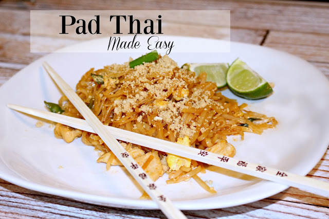 Pad Thai Made Easy