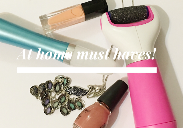 At home must haves.