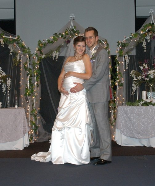 Pregnant wedding