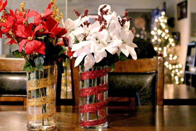 Christmas DIY Vase. From SA Live Segment