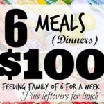 Feeding my family for $100 a week! #weekone