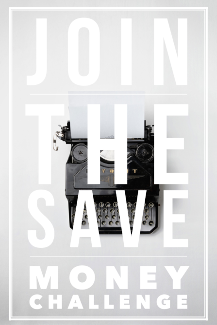 Save money challenge   Join me and many others save money