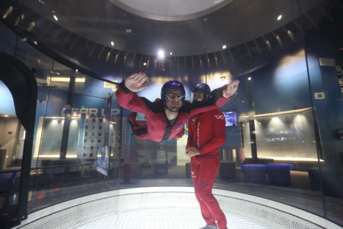 Taking our anniversary date to a whole new level! | iFly San Antonio