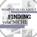 What to blog about|Finding your NICHE