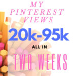 Growing my Pinterest {20k-95k} in two weeks.